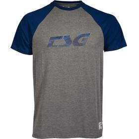 TSG Trap Raglan T-Shirt Heren grijs/blauw